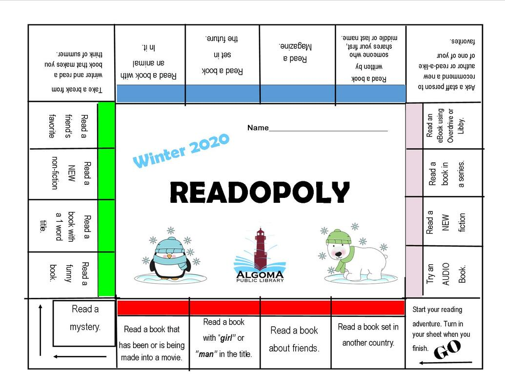 Readopoly Game Board