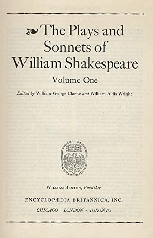 The Plays and Sonnets of William Shakespeare