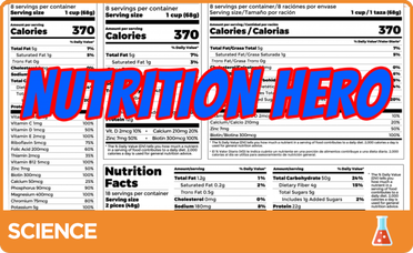 Food Nutrition label Picture